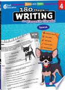 180 Days of Writing for Fourth Grade (Spanish) ebook
