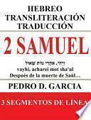 2 Samuel: Hebreo Transliteración Traducción