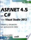 ASP.NET 4.5 en C# con Visual Studio 2012