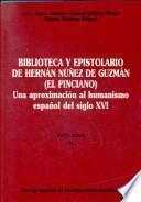 Biblioteca y epistolario de Hernán Núñez de Guzmán (El Pinciano)