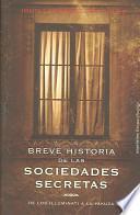 Breve historia de las sociedades secretas