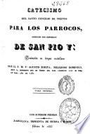 Catecismo del Santo Concilio de Trento para los párrocos