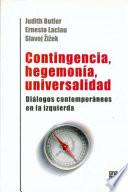 Contingencia, hegemonía, universalidad