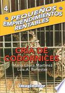 Cra de codornices / Quail Breeding