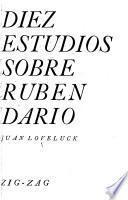 Diez estudios sobre Rubén Darío