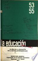 Educacion : revista interamericana de desarrollo educativo