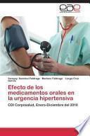 Efecto de Los Medicamentos Orales en la Urgencia Hipertensiva