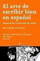 El arte de escribir bien en español
