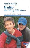 El Niño de 11 y 12 años