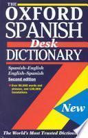 El Oxford Diccionario Espanol del Escritorio / The Oxford Sp