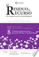 Enmiendas orgánicas de nueva generación: biochar y otras biomoléculas III.8