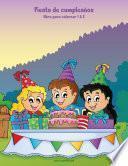 Fiesta de cumpleaños libro para colorear 1 & 2