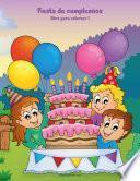 Fiesta de cumpleaños libro para colorear 1