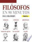 Filósofos en 90 minutos (Pack 4)