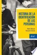 Historia de la identificación de las personas