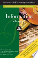 Informatica. Temario A. Volumen Iv. Profesores de Educacion Secundaria Ebook