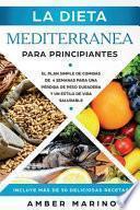 La Dieta Mediterranea Para Principiantes