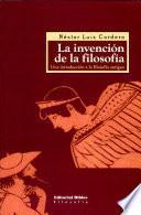 La invencion de la filosofia