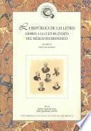 La república de las letras: Galería de escritores