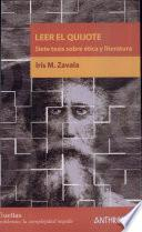 Leer El Quijote