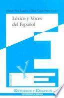Léxico y voces del español