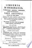 Librería de escribanos e instrucción jurídica theórico práctica de principiantes. 2.2
