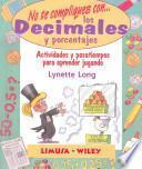 Los decimales y porcentajes