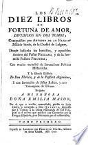 Los diez libros de Fortuna de Amor