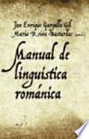 Manual de lingüística románica