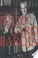 Memoria de Julio Caro Baroja