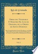 Obras del Venerable P. Maestro Fr. Luis de Granada, de la Orden de Santo Domingo, Vol. 2