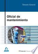 Oficial de Mantenimiento. Temario General Ebook