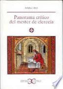 Panorama crítico del mester de clerecía