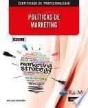 Políticas de marketing (MF2185_3)