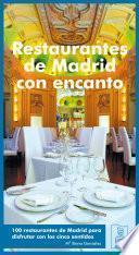 Restaurantes de Madrid con encanto