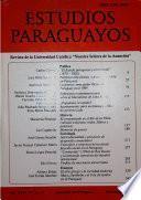Revista Estudios Paraguayos 2006 - N°1 y 2 - Vol. XXIV