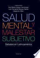 Salud mental y malestar subjetivo