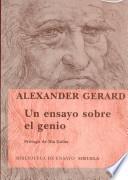 Un ensayo sobre el genio
