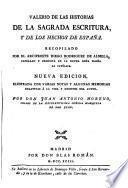 Valerio de las historias de la Sagrada Escritura y de los hechos de España